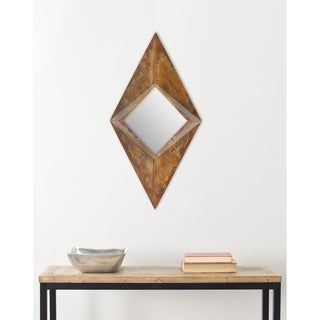 Safavieh Handmade Arts and Crafts Diamond Geometric 45 x 22-inch Mirror