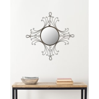 Safavieh Handmade Arts and Crafts Maltese Glamour 24 x 22-inch Mirror