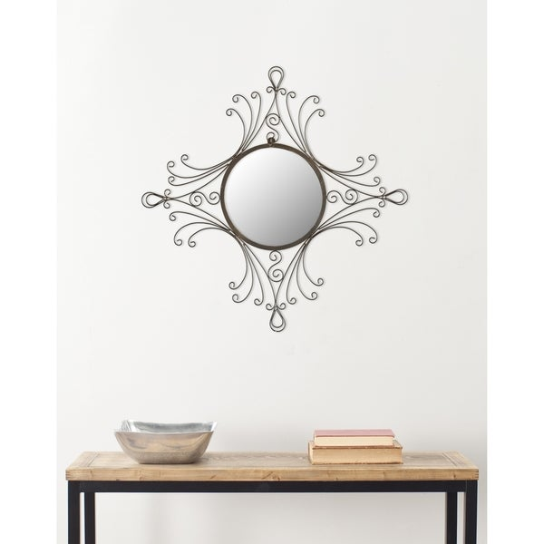 Safavieh Handmade Arts and Crafts Maltese Glamour 24 x 22-inch Mirror