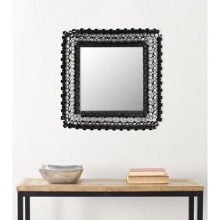 "Safavieh Handmade Art Square Tubes 25-inch Decorative Mirror - 25"" x 2.5"" x 2"""