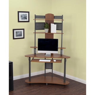 Calico Designs Pewter/ Teak Arch Tower
