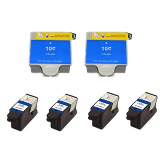 Kodak 30B/30C XL Compatible Black/Colors Ink Cartridge (Pack of 6)