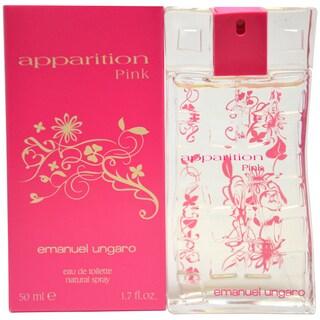 Emanuel Ungaro Apparition Pink Women's 1.7-ounce Eau de Toilette Spray