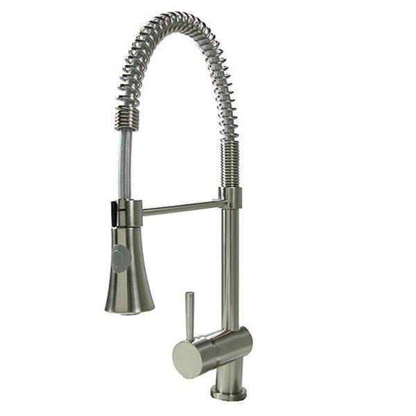 Tall Coil Stainless Steel Kitchen Faucet