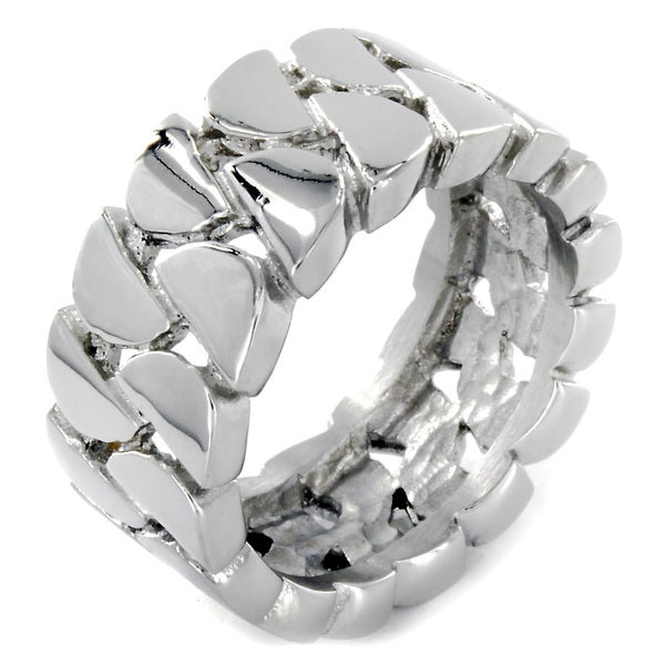 Stainless Steel Interlocking Links Ring