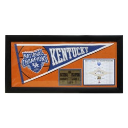 University of Kentucky Wildcats 2012 National Champions Deluxe Frame