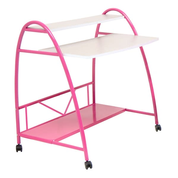 Studio Designs Pink Arc Desk Free Shipping Today