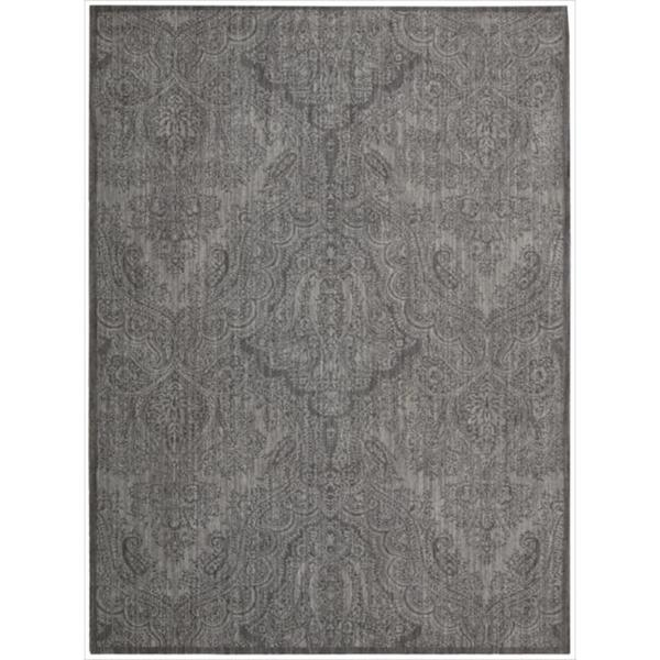 Joseph Abboud Majestic Pewter Area Rug by Nourison (7'9 x 10'10)