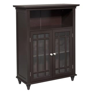 Stripe Double Door Floor Cabinet by Essential Home Furnishings