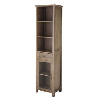 Louis Linen Tower Storage Cabinet