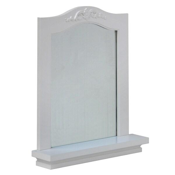 Yvette Wall Mirror with Shelf