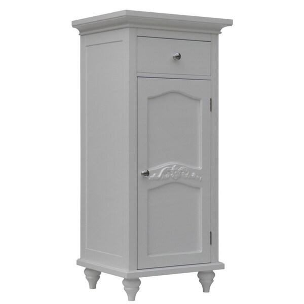 Yvette Single-door/ Single-drawer Floor Cabinet