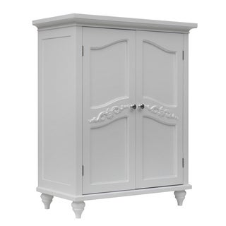 Yvette 2 Door Floor Cabinet by Elegant Home Fashions