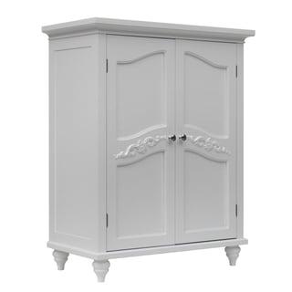 Yvette 2 Door Floor Cabinet by Elegant Home Fashions