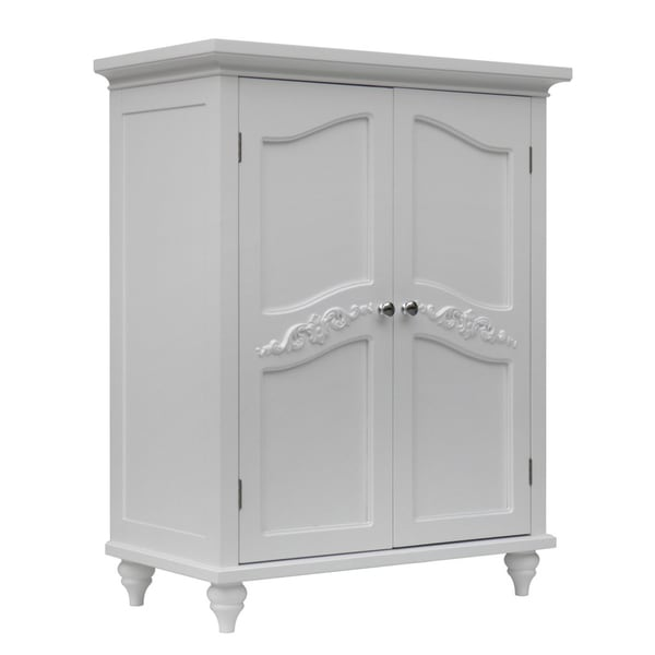 Marvelous Shop Yvette 2 Door Floor Cabinet By Elegant Home Fashions Interior Design Ideas Clesiryabchikinfo