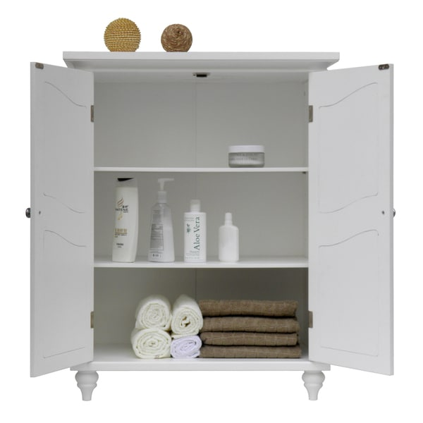 yvette 2 door floor cabinet by essential home furnishings free shipping today