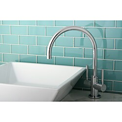 Chrome Faucet and Vitreous China Vessel Sink