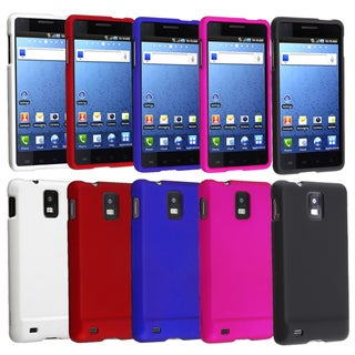 BasAcc Colored Cases for Samsung Infuse 4G (Pack of 5)