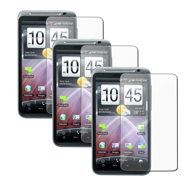 INSTEN Clear Screen Protector for HTC Thunderbolt (Pack of 3)