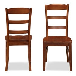 The Aspen Collection Ladder Back Dining Chairs (Set of 2) by Home Styles