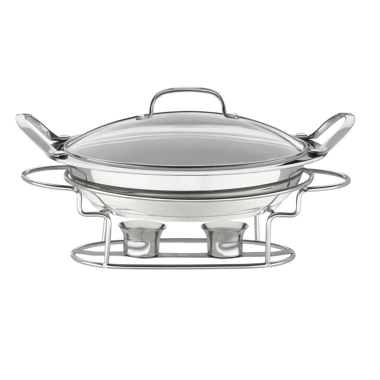 Cuisinart Stainless Steel Round 3-quart 12-inch Buffet Se...