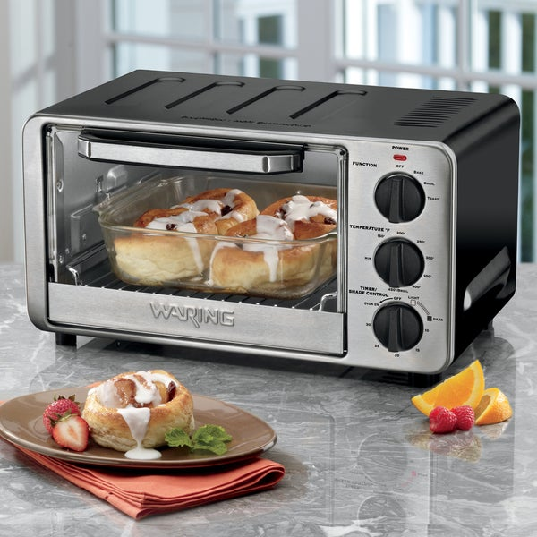 Shop Waring Pro Wto450 Toaster Oven Free Shipping Today
