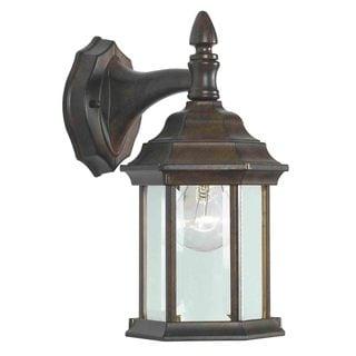 Brubeck Black 1-Light Wall Lantern