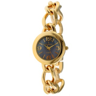 Peugeot Women's '' Purple Dial Goldtone Watch
