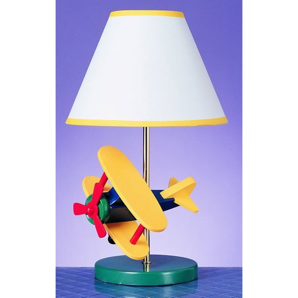 Cal Lighting Airplane Childrens Table Lamp - Free Shipping ...