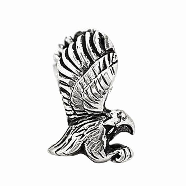 De Buman Sterling Silver Eagle Charm Bead