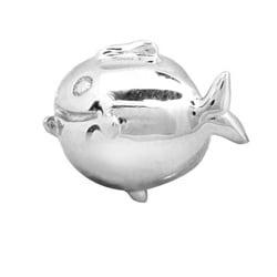 De Buman Sterling Silver Bubblefish Charm Bead