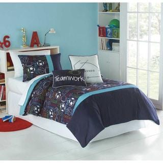 VCNY Big Believers Athletic Department 3-piece Comforter Set