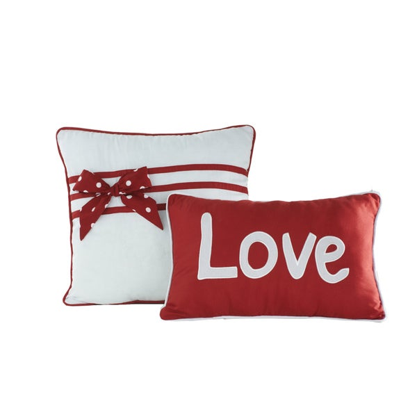 Big Believers American Sweetheart Decorative Throw Pillows (Set of 2)