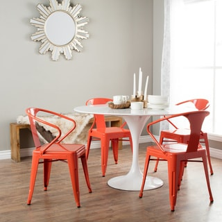 Tabouret Tangerine Stacking Chairs (Set of 4)