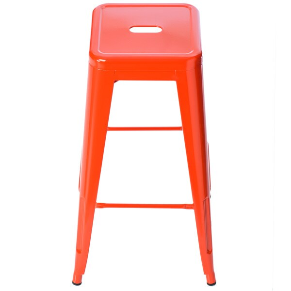 30 Inch Bar Stools Set Of 2 Part - 35: Tabouret 30-inch Tangerine Metal Bar Stools (Set Of 2) - Free Shipping  Today - Overstock.com - 14697436
