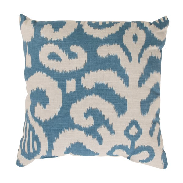 Fergano 16.5-inch Throw Pillow in Aqua