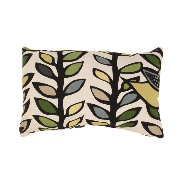 Trixie Rectangular Throw Pillow in Hemlock