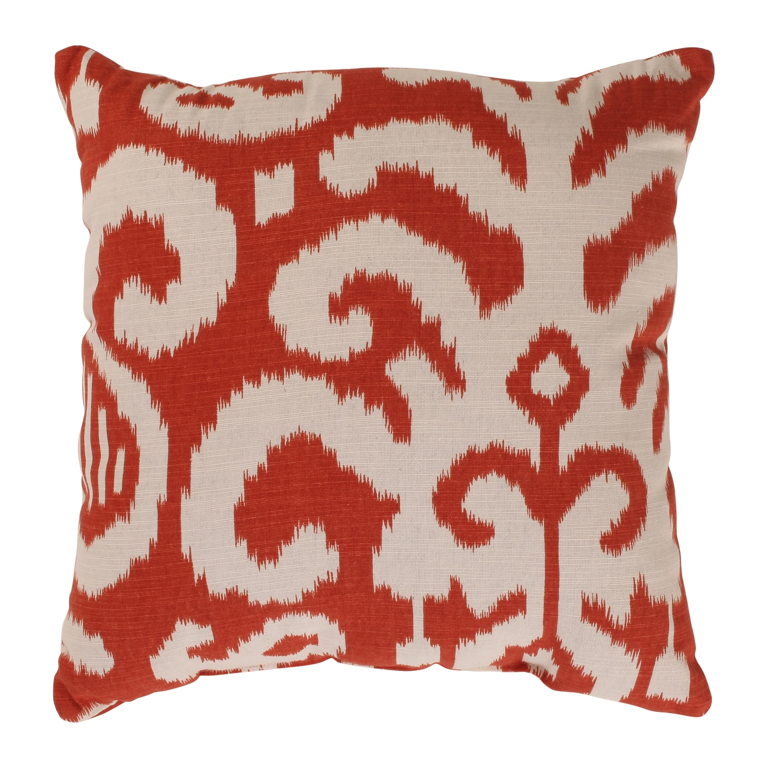 'Fergano' Red Square Throw Pillow - Free Shipping On ...