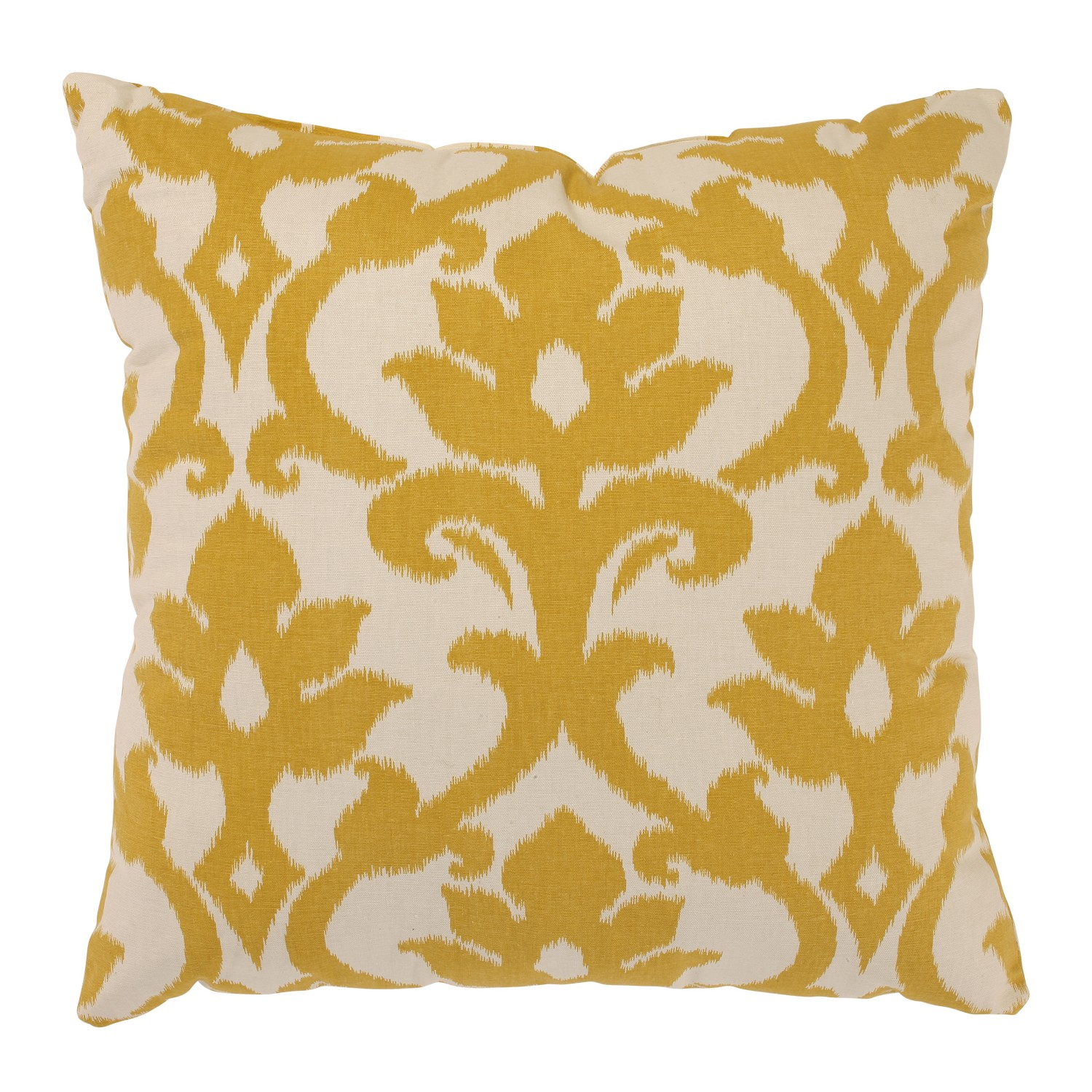 Azzure 24.5-inch Floor Pillow in Marigold