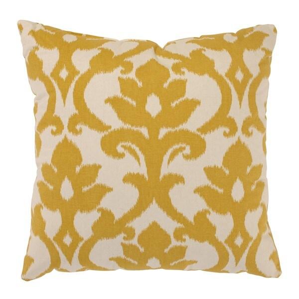 Azzure 24.5-inch Floor Pillow in Marigold