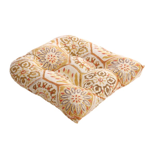 Summer Breeze Chair Cushion in Gold
