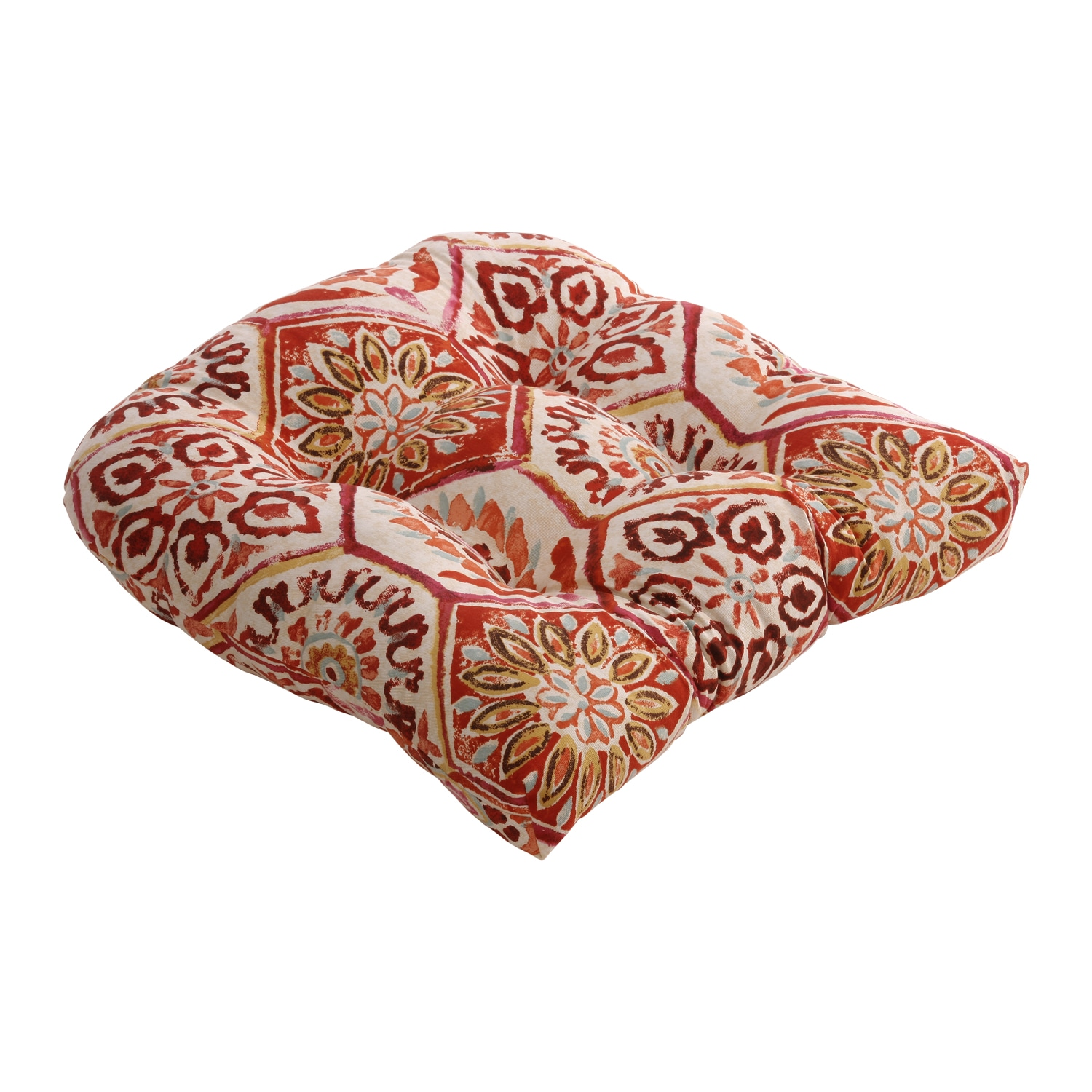 Summer Breeze Chair Cushion in Crimson