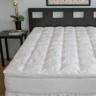 Candice Olson Luxury 300 Thread Count Down Alternative Fiber Bed Topper|https://ak1.ostkcdn.com/images/products/7213229/P14697586.jpg?impolicy=medium