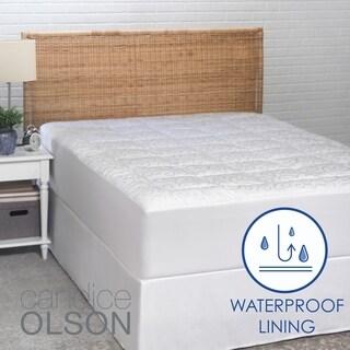Ordinaire Candice Olson Waterproof 300 Thread Count Mattress Pad