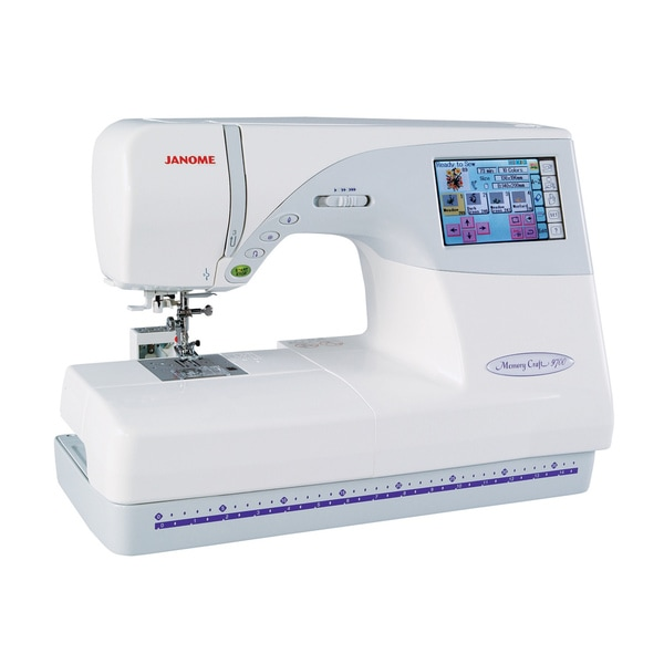 Janome New Home Memory Craft 9700 Sewing And Embroidery