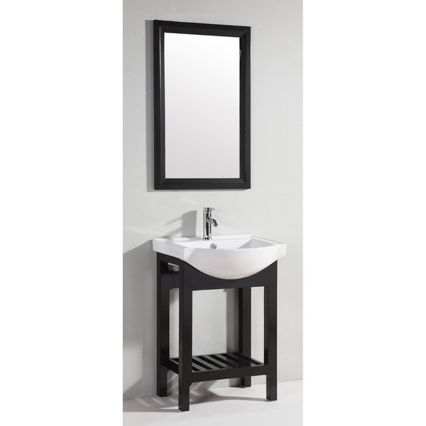 ceramic 24 inch top bathroom vanity with matching mirror free