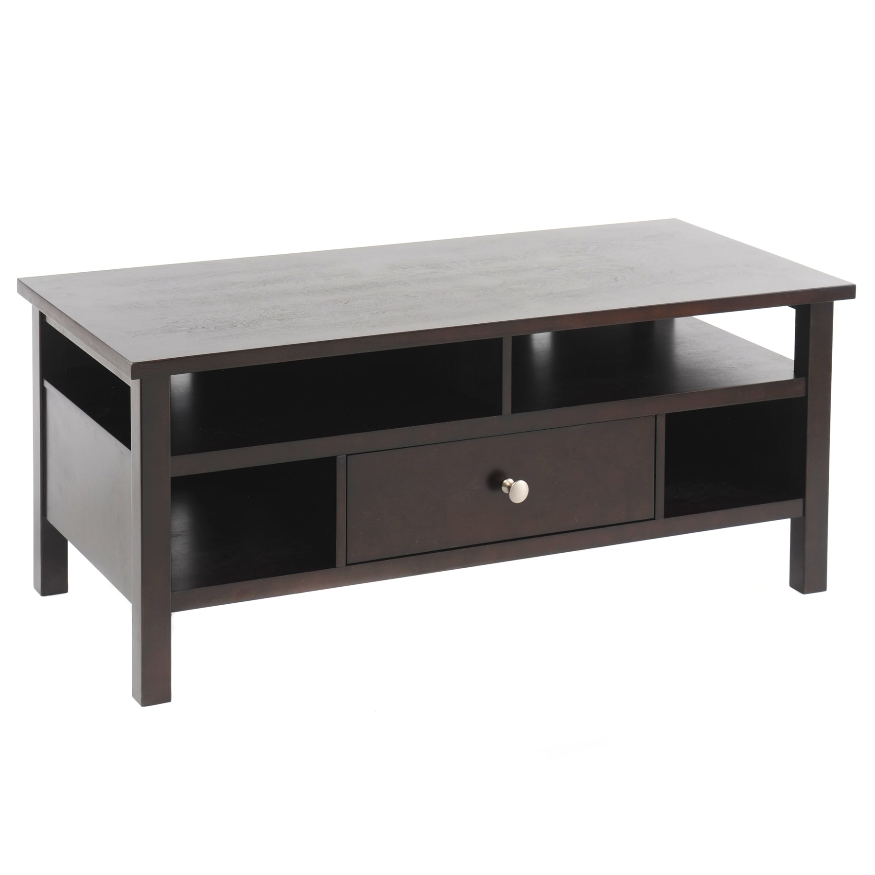 Bianco Collection Espresso TV Stand