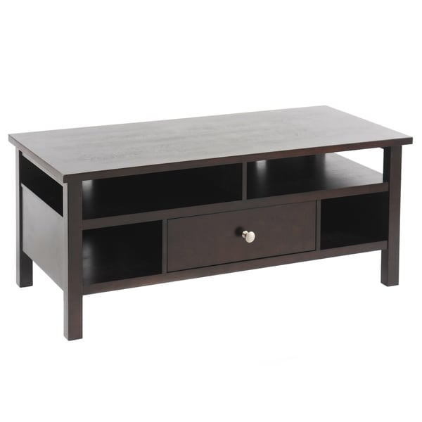 Bianco Collection Espresso TV Stand