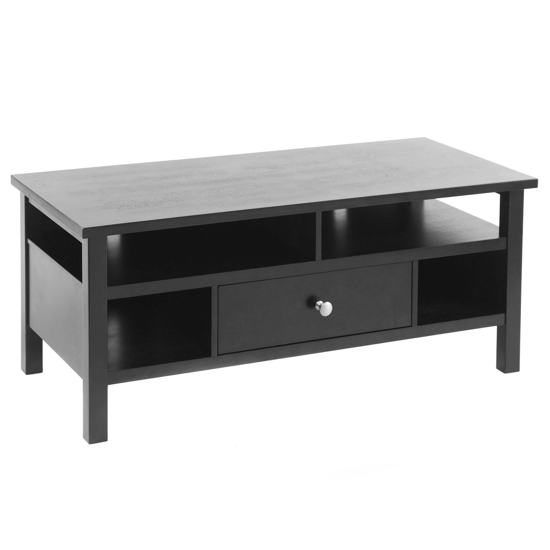 Bianco Collection Black Flat Screen TV Stand