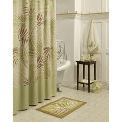 Sherry Kline Sago Palm Shower Curtain With Hook Set
